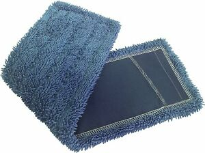 Dust Mops 24 Blue microfiber Industrial Style 6 Pack