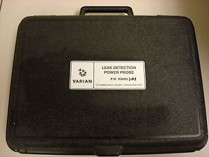 Varian P n K9565 301 Leak Detection Power Probe W Original Case