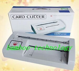 300b Automatic Name Card Slitter Business Name Card Cutter Card Cutting Machine