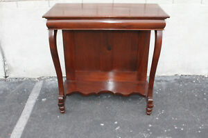 Gorgeous Antique Regency Style Mahogany Hallway Console 19th Century