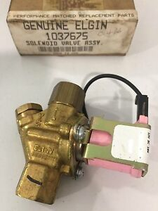 Elgin Sweeper 1037675 Solenoid Valve Assembly