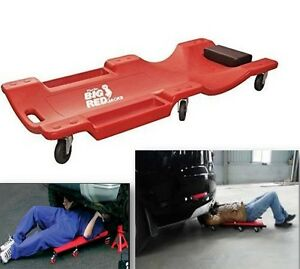 Low Profile Car Mechanic Creeper Caster Rolling Shed Auto Shop Garage Creeper