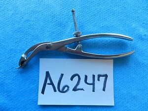 Osteomed Surgical Orthopedic 8in Small Verbrugge Holding Forceps 700672