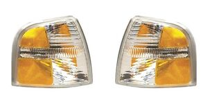 2002 2003 2004 Ford Explorer Park Signal Lamp Light Left And Right Pair Set