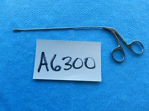 Ruggles Surgical 7in 178mm Micro Alligator Grasping Forceps R 8645