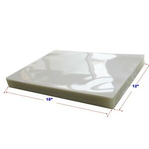 Pouching Film 100pk 5mil 18x12 Clear Laminating Thermal Hot Lamintor Glossy