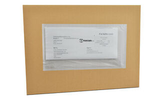 9 X 12 Re closable Packing List Envelopes Packing Supplies Back Load 500 case