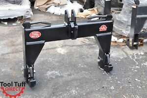 3 point Quick Hitch Category 3 Narrow Farm Tractor Implement Free Freight Ship