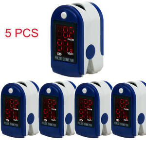 Usa Shipping 5pcs Oled Oximeter Pulse Finger Tip Monitor Blood Oxygen Spo2 case
