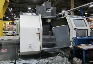 1995 Monarch Vmc 150b Cnc Vertical Mill 50 30 36 600 Ipm 16 000 Rpm Fanuc