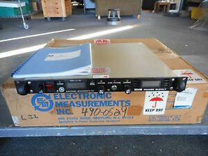 Electronic Measurements Inc Model ems 7 5 130 1 d 1159 Rev C Ems Power Supply