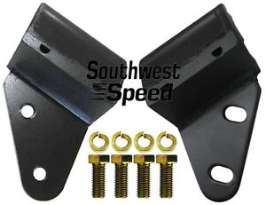 New 55 57 Chevy Bellhousing Mounts Bbc Sbc V 8 I6 Cylinder Rear Engine Mounts