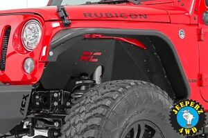 Jeep Jk And Jeep Jku Wrangler Front Inner Fender Liners same Day Shipping