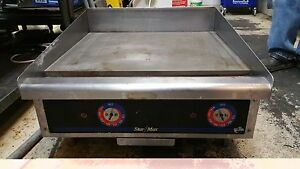 Star Max Electric Grill Griddle 524tgd