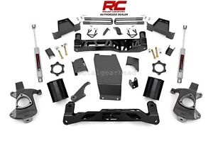 2014 2017 Chevrolet Gmc 1500 4wd 7 Rough Country Lift Kit Cast Steel 228 20