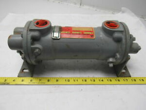 Young Radiator 277441 Ssf 301 hy 4p Heat Exchanger 3 4 Npt 1 Npt Ports
