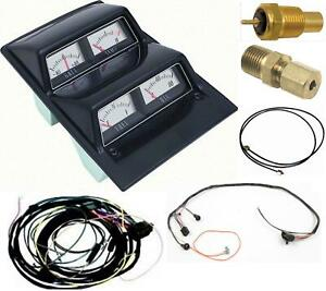 Oer 1969 Camaro Console Gauges Kit W Wiring Manual