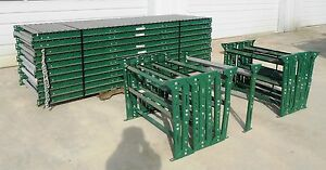 Ashland Conveyor Rollers 100 Ft 15 Stand Supports Roller Centers 3
