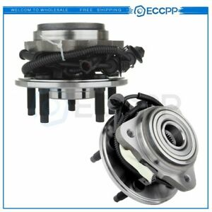 2 Wheel Hub Bearing Front For Ford Explorer 95 01 Mercury Mountaineer 97 01 4wd