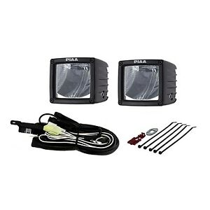 Piaa 07603 Rf Series 3 Led Cube Light Driving Beam Kit Sae Compliant