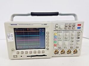 Tektronix Tds 3014 Four Channel Color Digital Phosphor Oscilloscope With Manuals