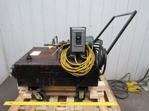 Portable Hydraulic Power Unit 208 230 460v 3 Ph 60hz 1 2hp Motor