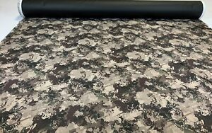 50 Yds 1000d Seat Cover Fabric Auto Cordura True Timber Viper Western Desert 60