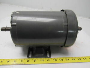 Baldor M00 92921678 001 1hp 3ph 208 230 460v 3450rpm Double Shaft Electric Motor