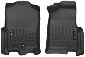 Husky 18371 Weatherbeater Front Floor Mats For Ford Expedition Lincoln Navagator