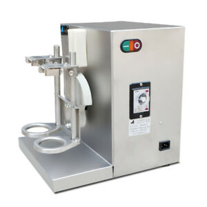 Commercial Double Head Stainless Steel Milk Shake Machine Milk Foam Maker 220v