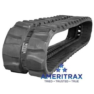 Cat 304c Cr Rubber Track 400x72 5x76 2 Year Warranty Free Shipping To Usa