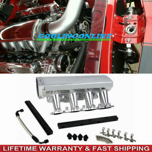 Ls1 Ls2 Ls6 Heads Tig Welded Aluminum W Fuel Rails Sheet Metal Intake Manifold