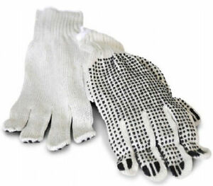 Pvc Single Dot Work Gloves Men s Size 10 Dozen