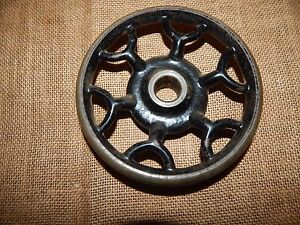 Antique New Home Treadle Sewing Machine Balancing Wheel Replace Part