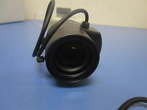 Rainbow Bl58d Hi res 1 3inch B w Ccd Camera With Computar 2 8 12mm 1 1 3 Lens
