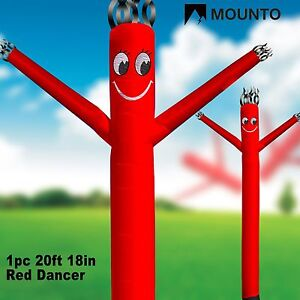 two Day Shipping Mounto 20ft Air Puppet Dancer Red blower Not Included