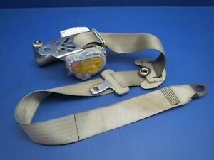 04 09 Toyota Prius Right Front Passenger Seatbelt Seat Belt Retractor Tan Oem