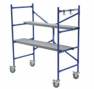 Werner 4 Ft Multi use Scaffolding Rolling Capacity Scaffold Platform Drywall New