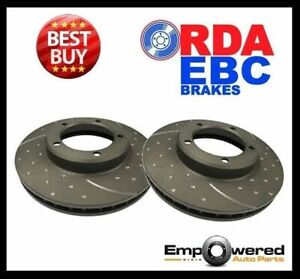 Dimpled Slotted Rear Disc Brake Rotors For Mazda Rx7 Fd 1 3l Twin Turbo 1992 02