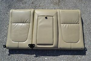 10 11 12 2010 2011 2012 Jaguar Xf Supercharged Sedan Rear Seat Back