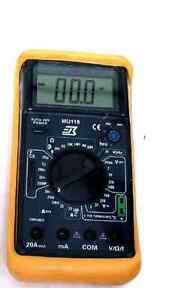 M 1750 Digital 6 Function Multimeter With Temp Frequency Counter