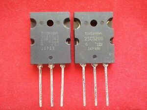 2sa1943 2sc5200 a1943 C5200 Toshiba Transisistors Set Of 10 Pieces Each