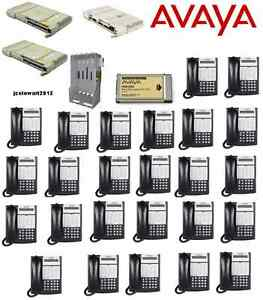 Avaya Partner Acs 509 Phone System W 25 18d Series 2 Telephones And Voice Mail