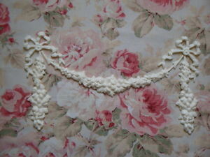 New Daisy Swag Drops Ribbon Bows Architecural Furniture Applique Pediment
