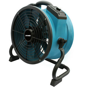 Xpower X 34ar 1 4 Hp 1720 Cfm Professional Axial Fan With Built in Outlets