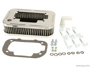 Weber Carburetor Chrome Air Filter Complete Assembly With Filter And Clips