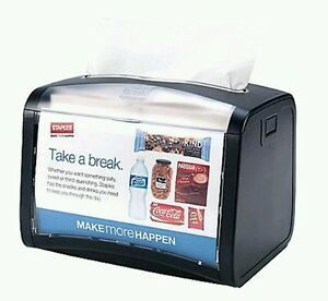 Tork New 32xpt Xpressnap Tabletop Napkin Dispensers Black Clear Case Of 4