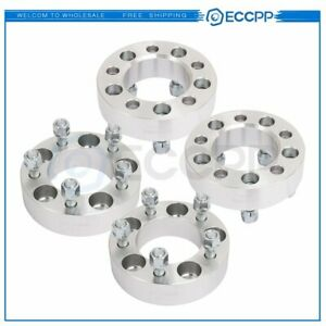 4x 1 5 5x4 5 Wheel Spacers 1 2 x20 Studs Adapters Fit 1991 2008 Ford Ranger
