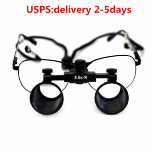 3 5x Dental Loupes Surgical Medical Binocular Magnifiers Cv 286