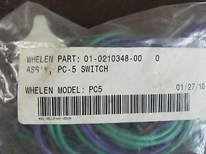 Whelen Switch 3 Position Hi low off Switch Pc5s Pc5
